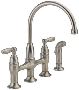 Delta Two Handle Bridge Faucet
