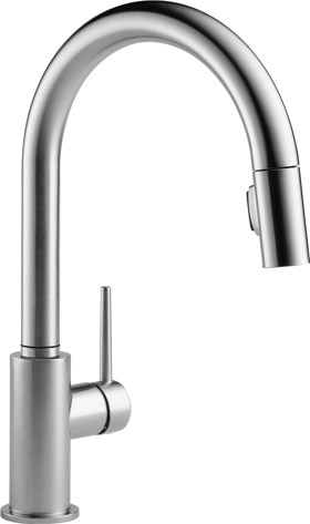 Delta Single Handle Pull-Down Kitchen Faucet
